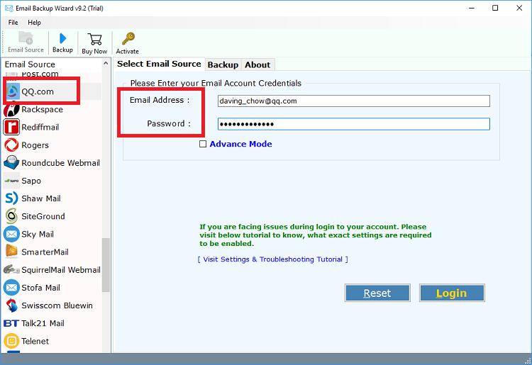 QQ邮件到gmail的迁移